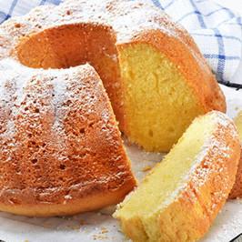 Very Rising Lemon Scented Lemon Cake