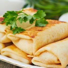Chicken Pancake Wrap