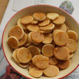 Baby Pancake with Orange Juicy Apple 8+m