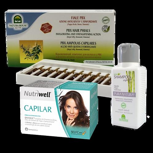 Pack tratamento integral capilar