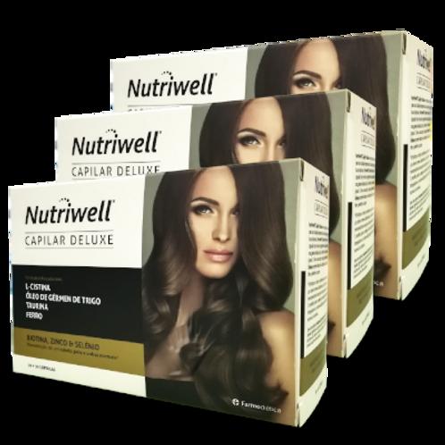 Nutriwel Capilar Deluxe pack promoção