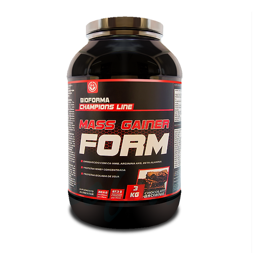 Mass Gainer Form Brownie Chocolate 3Kg