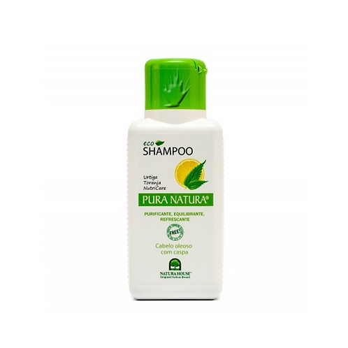 Eco Champo Purificante, Pura Natura - para cabelo oleoso e com caspa