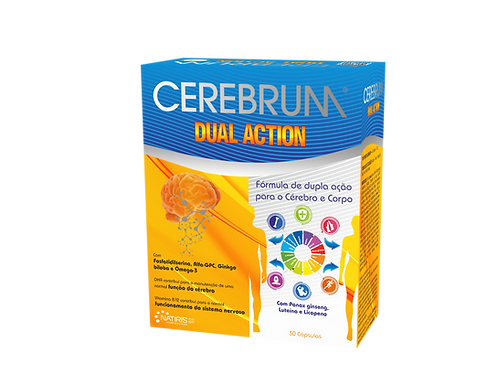 Cerebrum Dual Action 30 cápsulas