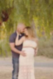 Husband and Wife parents to be maternity photography session in Tucson Arizona