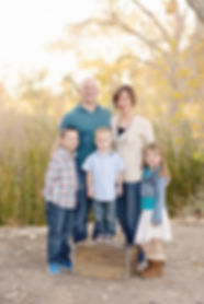 Family pictures at Sweetwater Wetlands in Tucson Arizona