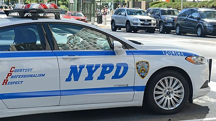Image of NYPD police car