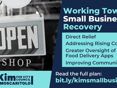 Kim Moscaritolo Releases Comprehensive Small Business Plan