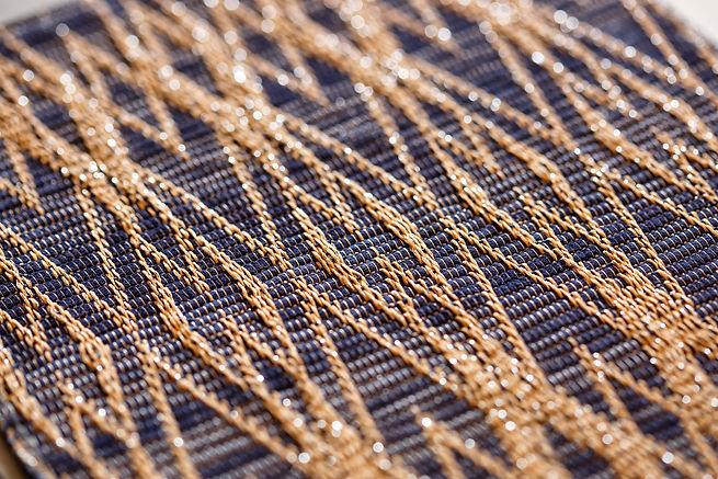 Kapara atelier textile Tissage cuir décoration d'intérieur