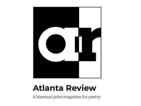 Atlanta Review Spring/Summer 2017