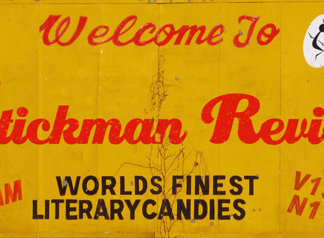 Stickman Review V15 N1: two poems