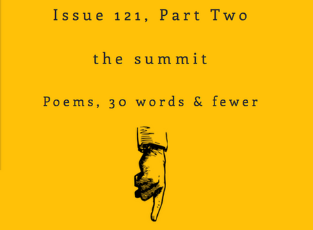 Right Hand Pointing: two short poems
