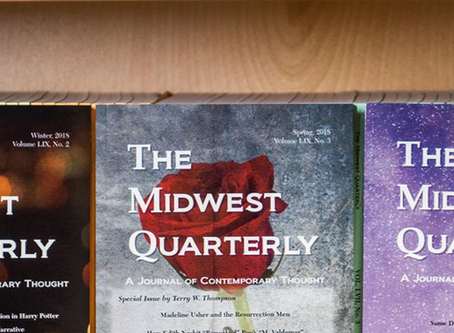 The Midwest Quarterly: poem published