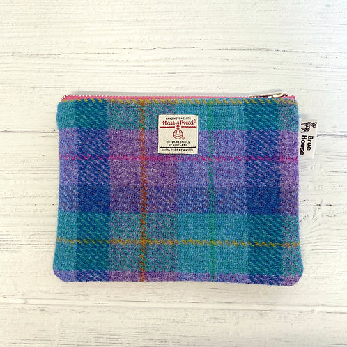 Violet & Kingfisher Harris Tweed Large Pouch Purse