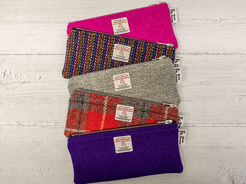 Harris Tweed Pencil Cases