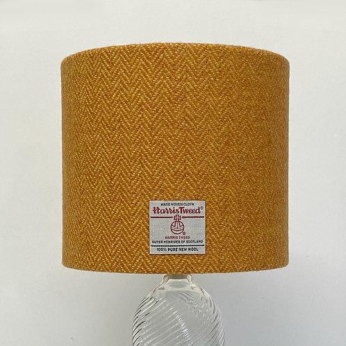 Orange & Yellow Herringbone Harris Tweed Lampshade