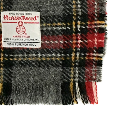 Our scarves are made from Harris Tweed fabric with frayed edges complete  with the Harris Tweed orb label of authenticity. 30110ab4f99