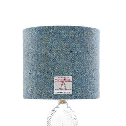Blue & Yellow / Green Herringbone Harris Tweed Lampshade