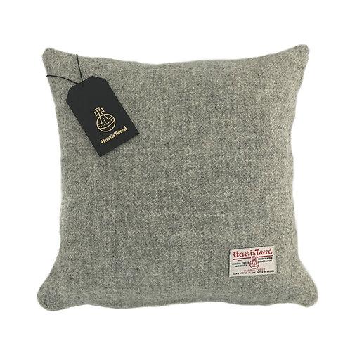 Silver Grey / Light Grey Harris Tweed Cushion Cover