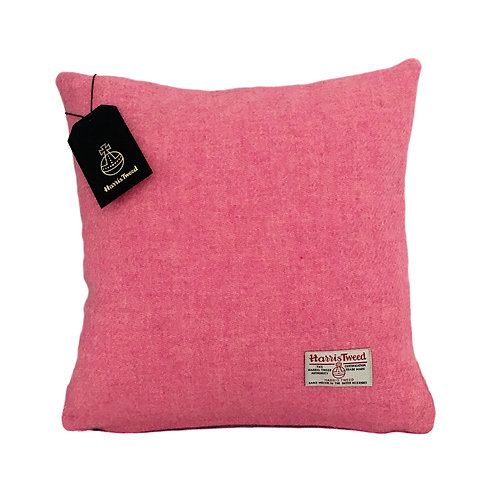 Pale Pink / Baby Pink Harris Tweed Cushion Cover