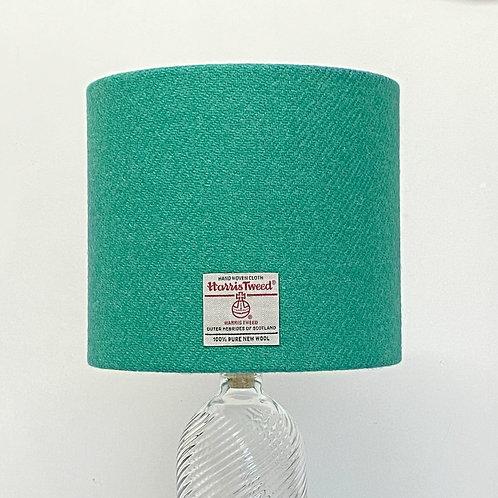 Jade Green Harris Tweed Lampshade