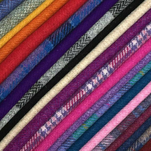Custom Colour Harris Tweed Lampshade