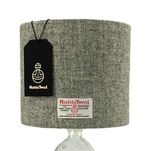 Harbour Grey Harris Tweed Lampshade
