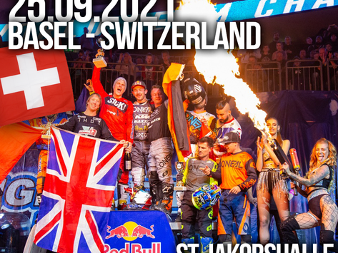 Four World Champions to compete at the first FMX competition in Europe at Freestyle of Nations