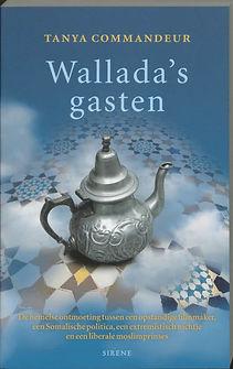 Omslag Wallada's Gasten Tanya Commandeur Uitgever Sirene