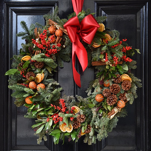 SOLD OUT - Ready Made Christmas Wreath