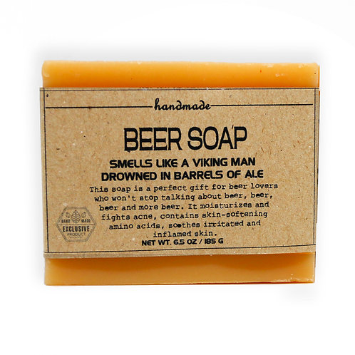 Beer Soap Hand-Crafted Soap 185G