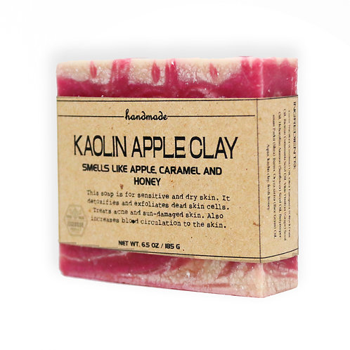 Kaolin Apple Clay Hand-Crafted Soap 185G