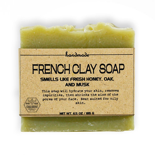 French Clay Soap Hand-Crafted Soap 180G