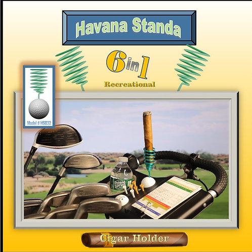 Havana Standa Golf Cigar Holder