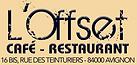 Restaurant Avignon L'Offset
