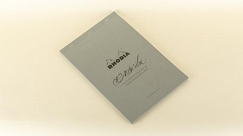 Rhodia PAScribe Calligraphy Grey Maya Pad