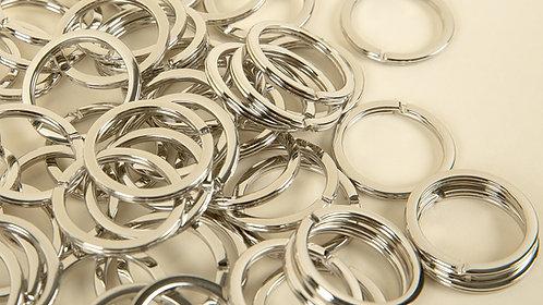 Brisé Rings - Nickel Plate