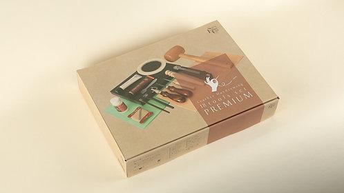 SEIWA Leather Hand Sewing 18 Tools Set PREMIUM