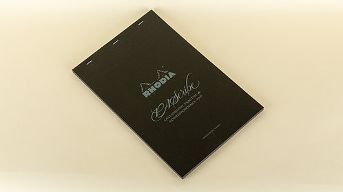 Rhodia PAScribe Calligraphy Black Carb'On® Pad