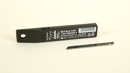 "NT Cutter - Spare blade 58 degree extra sharp black blade ""BA15P"""
