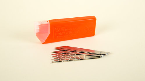 "NT Cutter - Spare blade 30 degree/10 blades ""BAD-21P"""