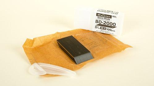 "NT Cutter Precision 30 degree black/100 blades ""BD-2000"""