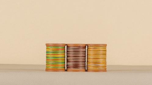 Rainbow Linen Thread