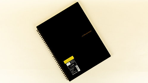 """Mnemosyne N199A """"Imagination"""" Lined A4+ Notebook"""