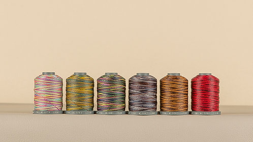 Rainbow Polyester Thread