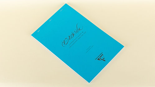 PAScribe Copperplate script & Calligraphy Blue Pad
