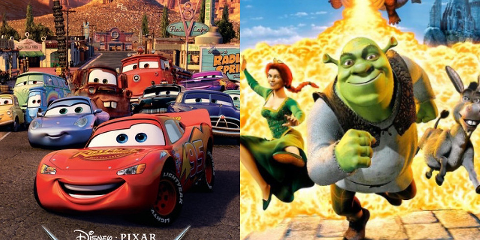 Cars and Shrek