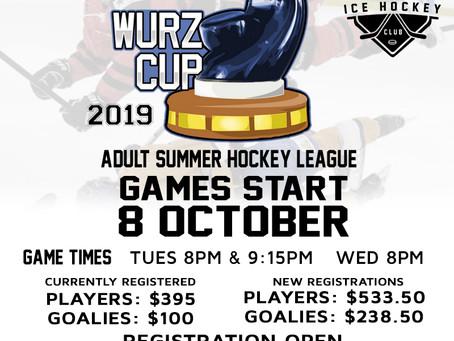 Wurz Cup Registration Open!