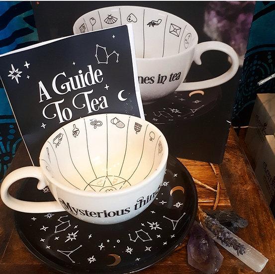 Tea Reading Fortune Telling Ceramic Teacup