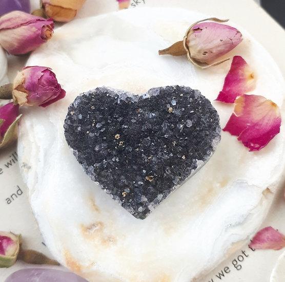 Druze Crystal Heart
